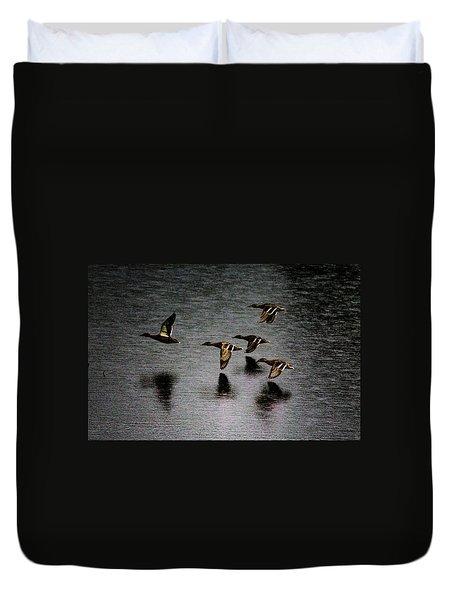 Duck Squadron Duvet Cover