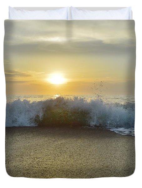 Duck Sunrise Duvet Cover