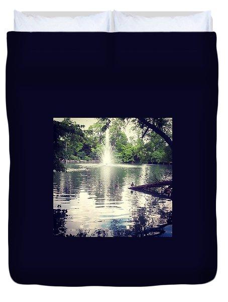 London Pond Duvet Cover