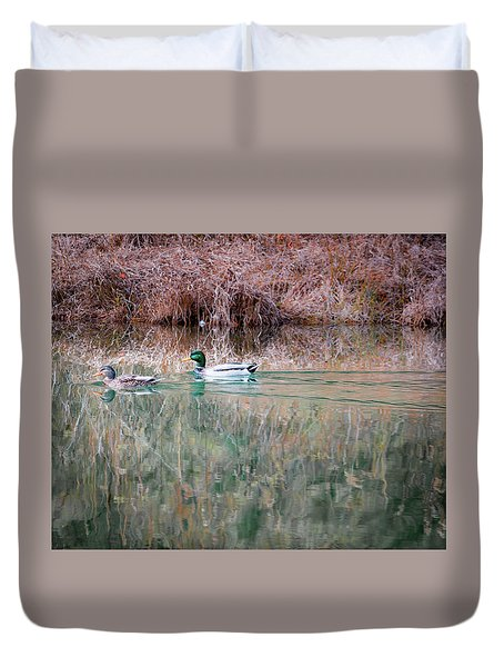 Ducks Duvet Cover