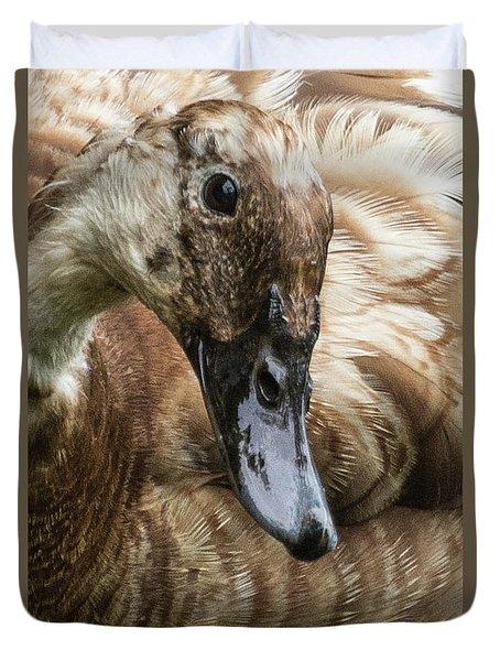 Ducks Head Duvet Cover
