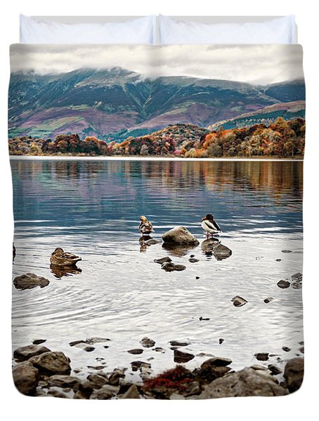 Ducks On Derwent Duvet Cover