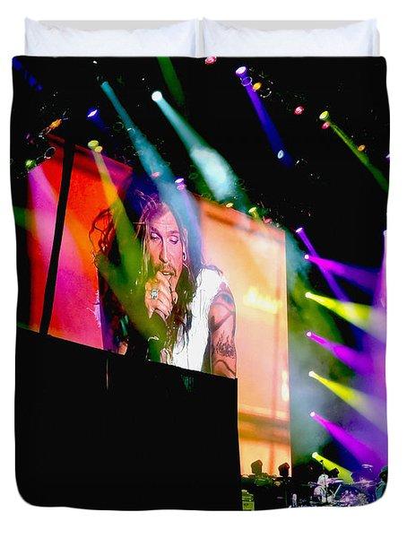 Sweet Emotion. Aerosmith Live Duvet Cover