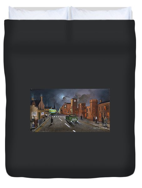 Dudley, Capital Of The Black Country Duvet Cover