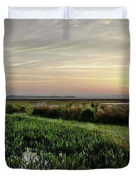 Due East Duvet Cover by Phill Doherty