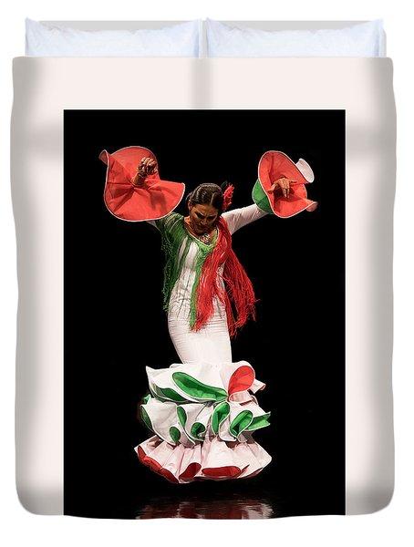 Duende Flamenco Duvet Cover