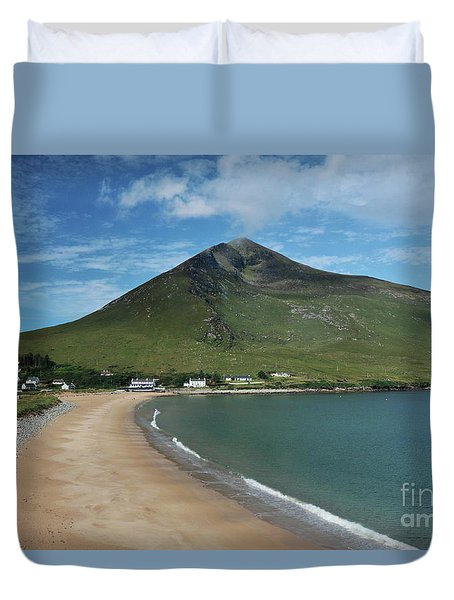 Dugort Beach Achill Duvet Cover