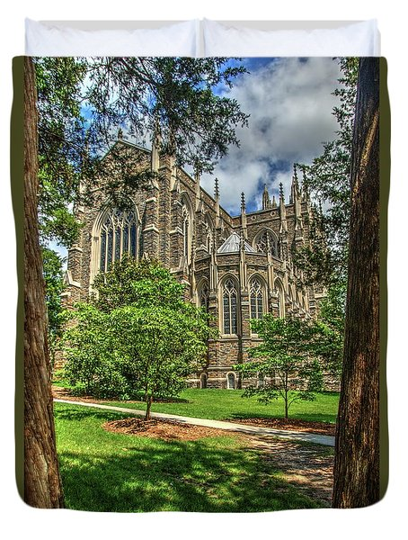 Duke Chapel Duvet Cover