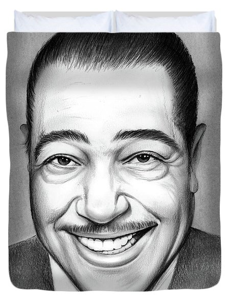 Duke Ellington 2 Duvet Cover
