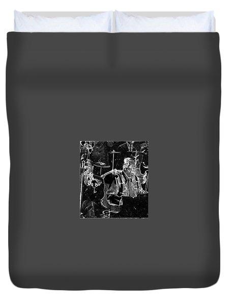Duke Ellington Duvet Cover by Charles Shoup