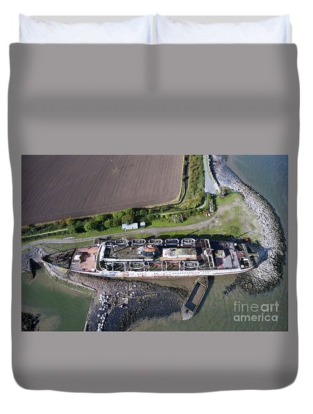 Duke Of Lancaster 2 Duvet Cover by Azimuth Images