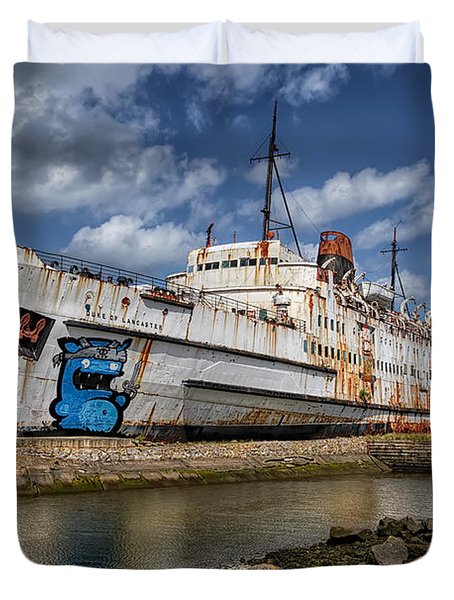 Duke Of Lancaster  Duvet Cover by Adrian Evans