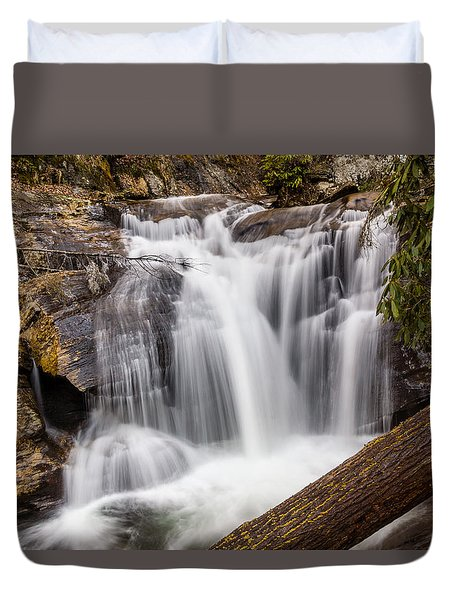Dukes Creek Falls Duvet Cover