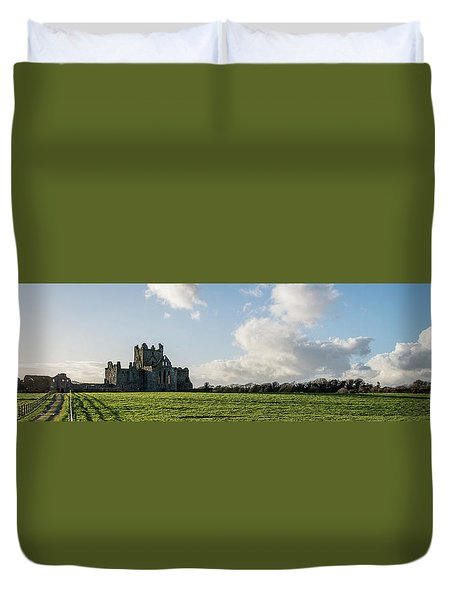 Dunbrody Abbey Duvet Cover