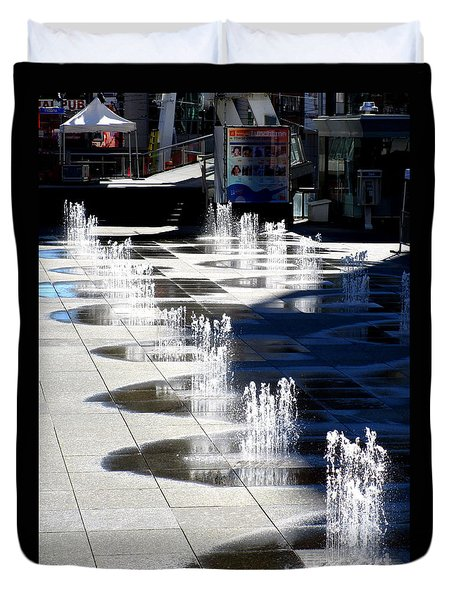 Dundas Square 1 Duvet Cover