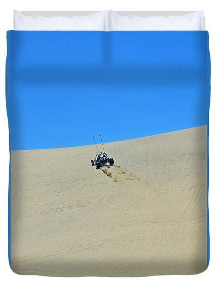 Dune Buggy 003 Duvet Cover by George Bostian