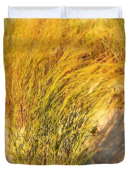 Dune Grass II  - Jersey Shore Duvet Cover