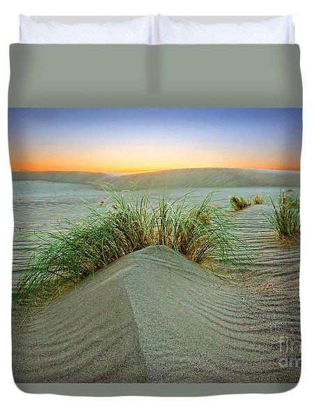 Dune Grass Of Bruneau Idaho Duvet Cover