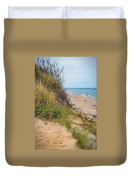 Duvet Cover featuring the photograph Dune by Kendall McKernon