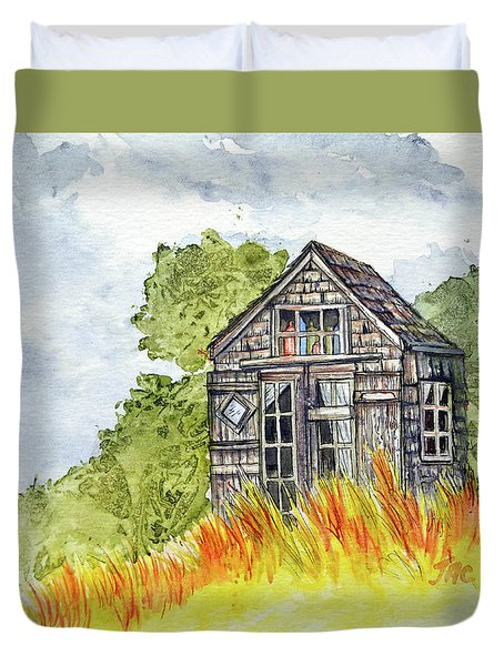 Dune Shack Duvet Cover