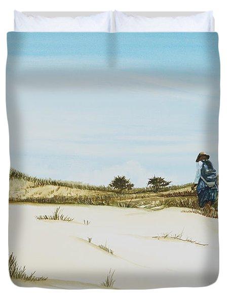 Dune Walker Province Lands Duvet Cover
