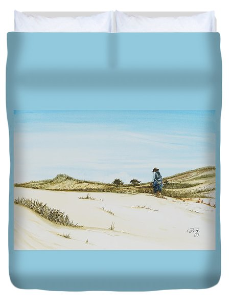 Dune Walker Province Lands Duvet Cover