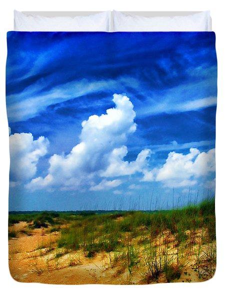 Dunes At Bald Head Island Duvet Cover