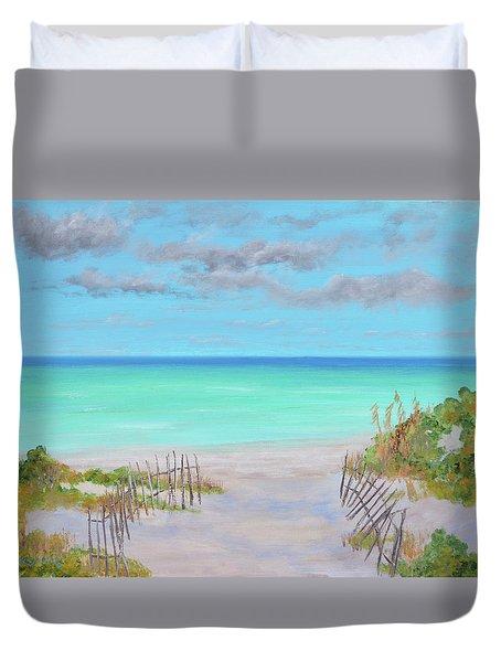 Dunes Beach Duvet Cover
