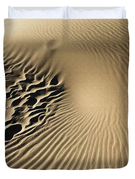 Dunes Footprints Duvet Cover