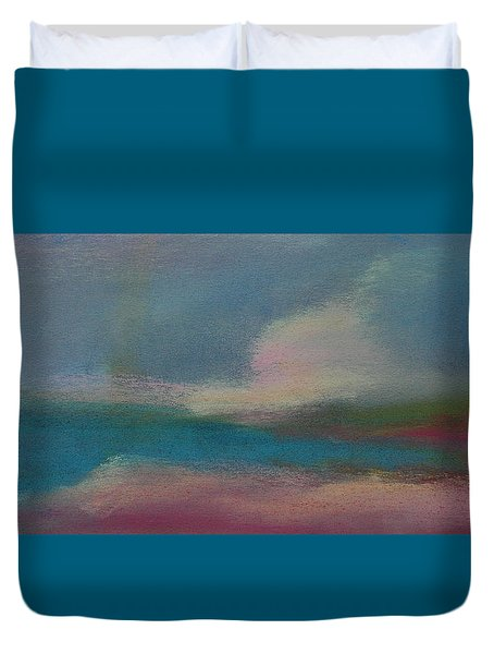 Dunes On The Horizon Duvet Cover