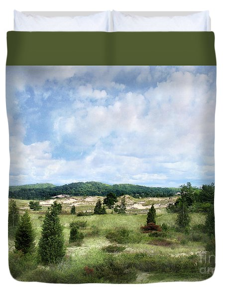 Dunescape Preserved Forever Duvet Cover by Kathi Mirto