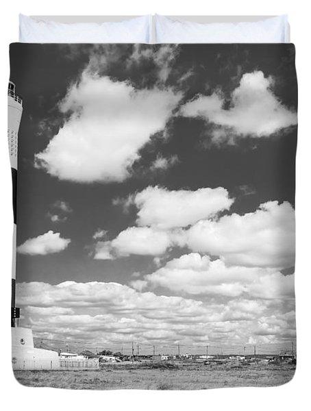Dungeness Lighthouse. Duvet Cover