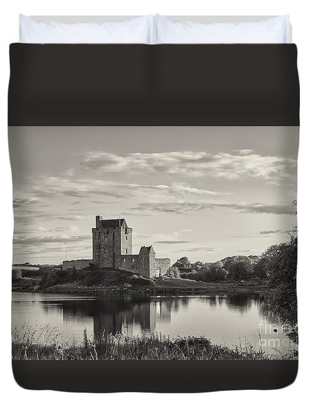Dunguaire Castle Duvet Cover
