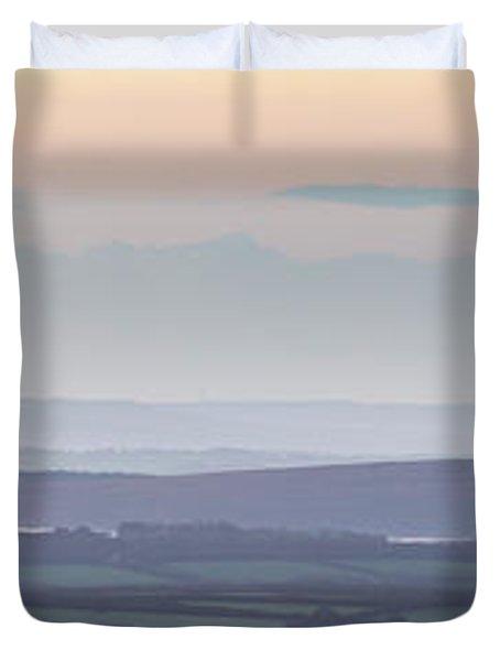Dunkery Hill Morning  Duvet Cover