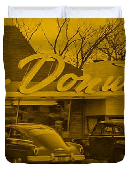Dunkin Donuts Duvet Cover