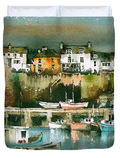 Dunmore East, Waterford Duvet Cover