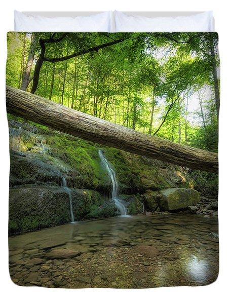 Dunnfield Creek  Duvet Cover