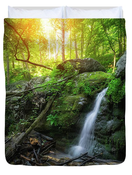 Dunnfield Creek Sunrise  Duvet Cover