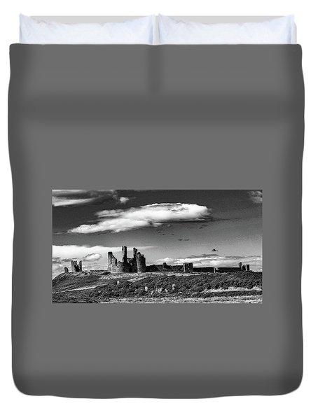 Dunstanburgh Castle Duvet Cover