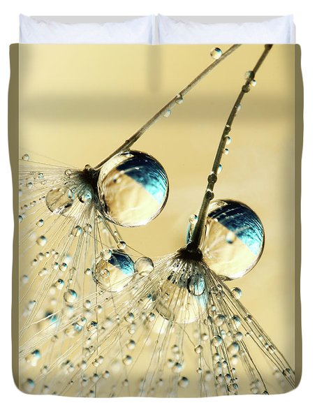 Duo Shower Dandy Drops Duvet Cover