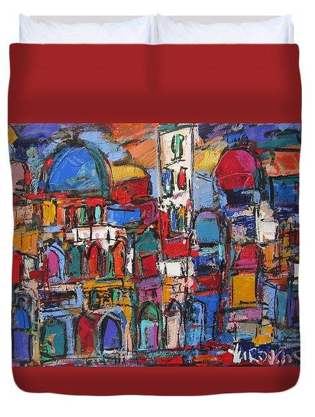 Duomo  Florence  Duvet Cover