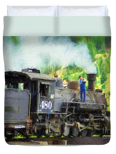 Durango And Silverton 480 Duvet Cover