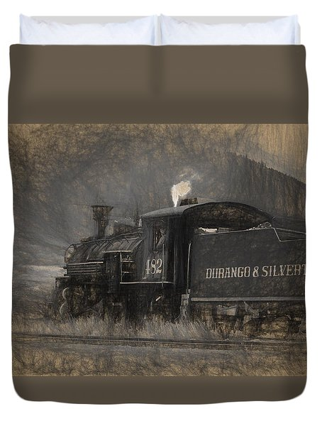 Durango And Silverton Train 2 Duvet Cover
