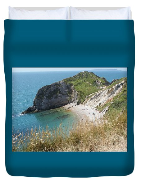 Durdle Door Photo 1 Duvet Cover