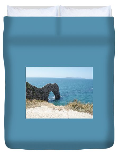 Durdle Door Photo 3 Duvet Cover