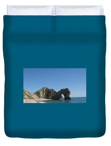 Durdle Door Photo 6 Duvet Cover