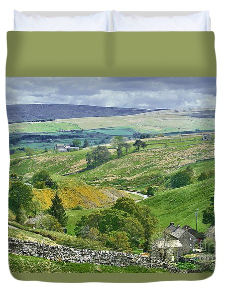 Durham Dales Countryside - Weardale Duvet Cover