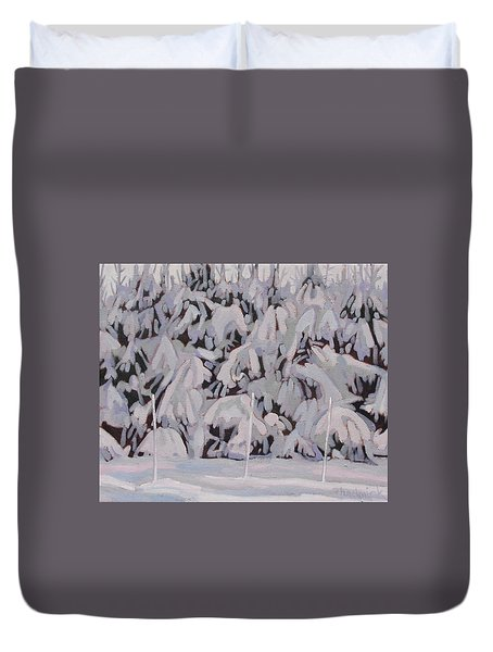 During The Storm Duvet Cover