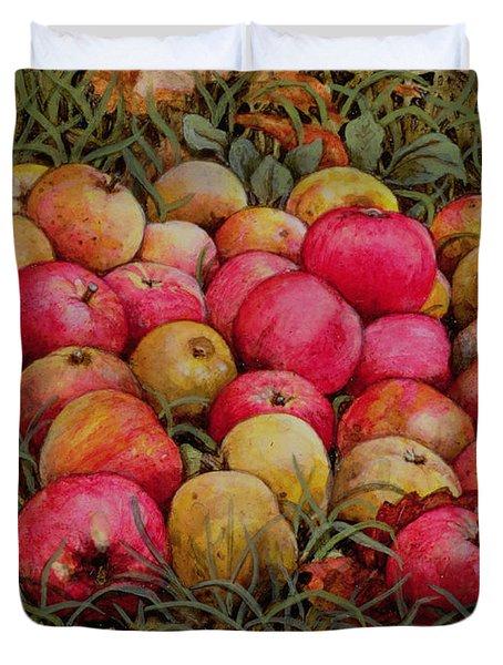 Durnitzhofer Apples Duvet Cover by Ditz