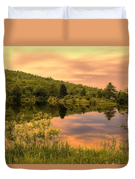 Dusk Beauty  Duvet Cover by Betty  Pauwels